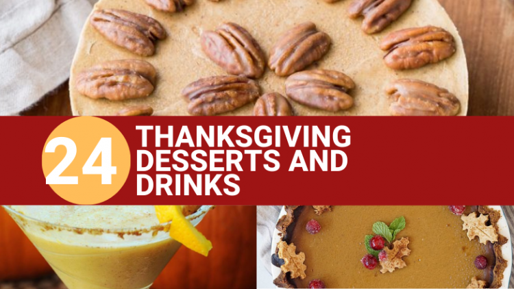 Vegan Thanksgiving Desserts and Drinks