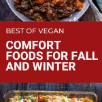 best of vegan fall and comfort food