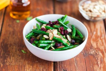 maple bourbon glazed green beans-3