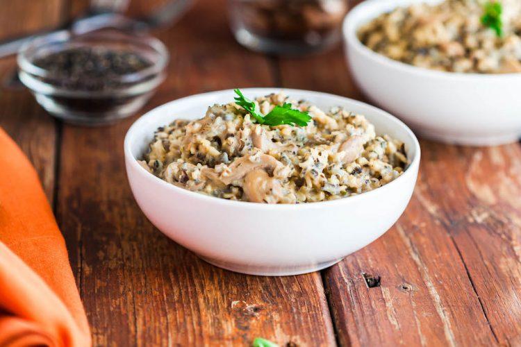 slow cooker creamy wild rice-2