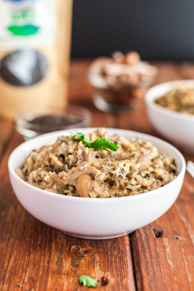 slow cooker creamy wild rice-9