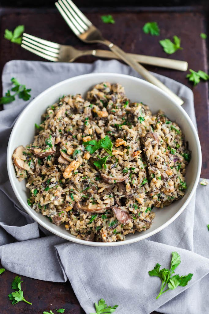 Instant Pot Rice Pilaf vegan