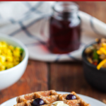 PUMPKIN PIE SPICED GRAIN FREE WAFFLES