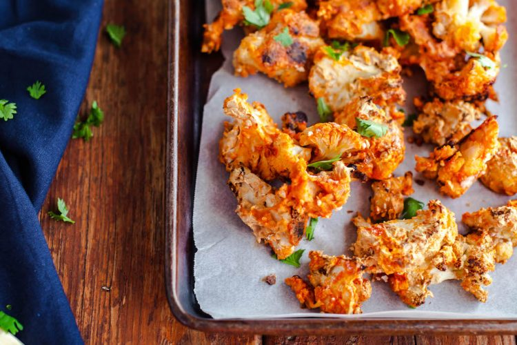 vegan buffalo cauliflower wings
