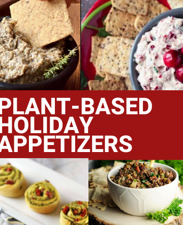 plant based holiday appetizers
