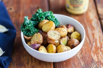 baby potatoes with dill and mustard