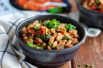 crockpot greek beans