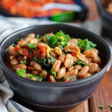 crockpot greek beans