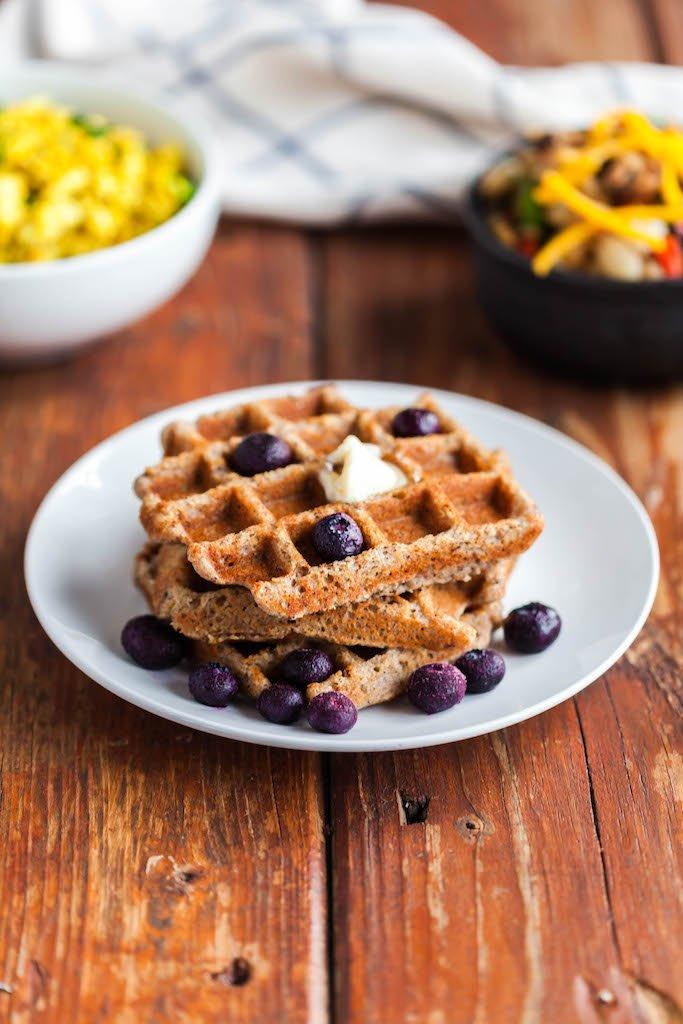 grain free vegan waffles