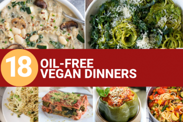 oil free vegan dinners