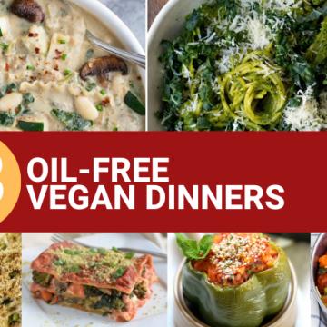 oil free vegan dinners