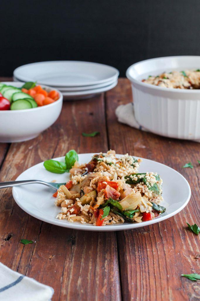 vegetable bean casserole-20