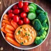easy roasted-red-pepper-hummus