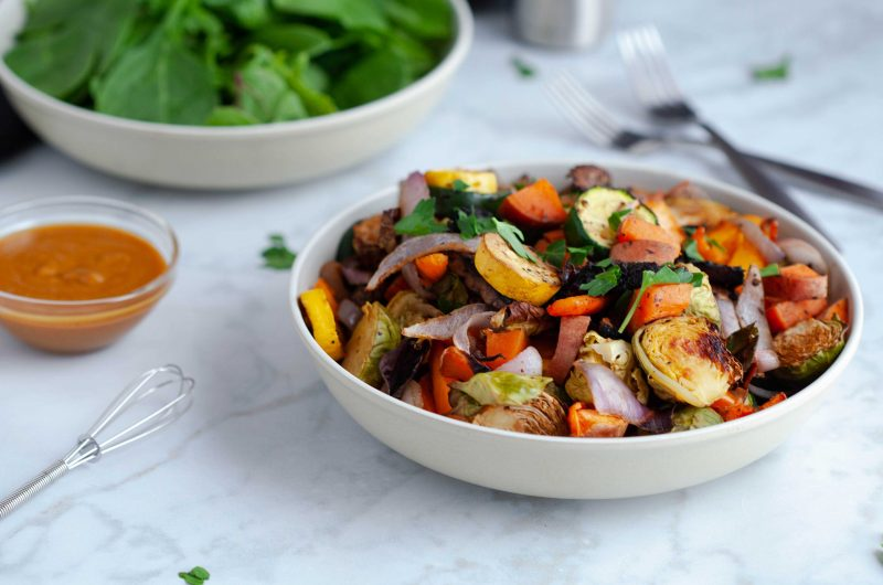 Veg Bowl with Miso Dressing