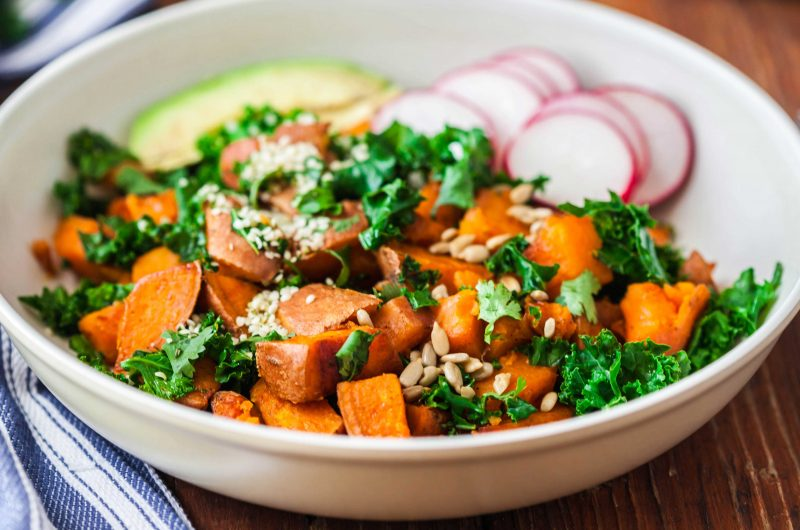 Savory Sweet Potato Avocado Breakfast Bowl