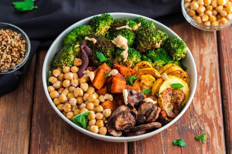 Broccoli Sweet Potato Buddha Bowl